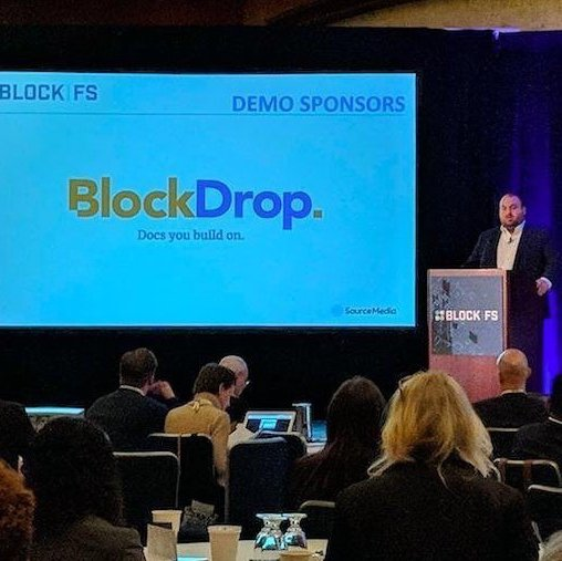 BlockDrop presenting at BlockFS